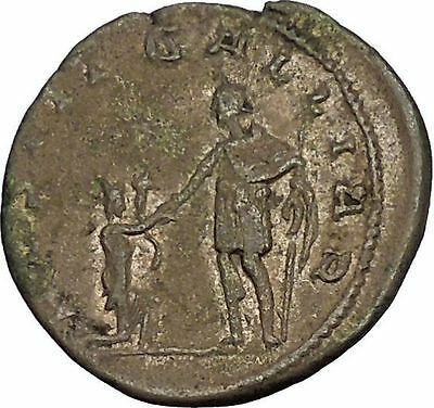 GALLIENUS Restitutor of GALLIA 258AD Ancient Silver Roman Coin Cologne i53558