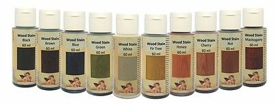 Daily Art  60ml Water Based Wood Stain Wood Dye  Woodworking/Decoupage