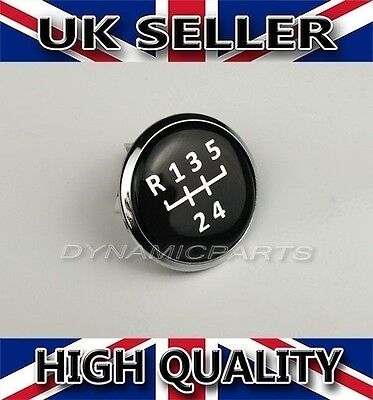 5 Speed Gear Knob Emblem Badge Cap For VW Transporter T5/T6 GP
