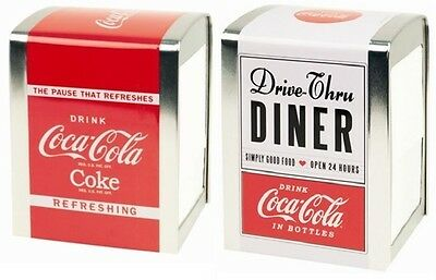 Retro American Diner Coca-Cola Napkin Holder Dispenser Party Restaurant Bar