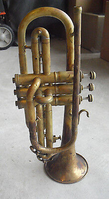 Antique Pan American Ekhart Ind Trumpet Serial 152767 LOOK