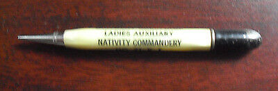 Vintage Mechanical Pencil Ladies Auxiliary Birthday Greetings No 71 KT