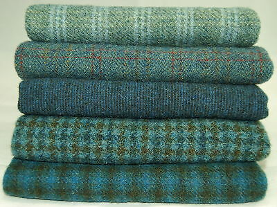 """HAND DYED RUG HOOKING WOOL Mill-Dyed ~ """"BLUE LAGOON"""""""