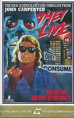 THEY LIVE Movie Poster (1988)
