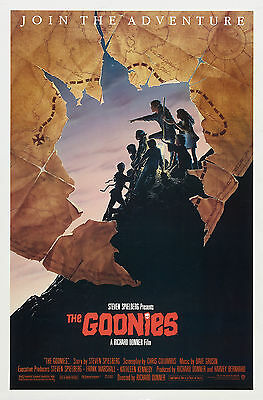 THE GOONIES Movie POSTER Classic 80's 24x36 inch