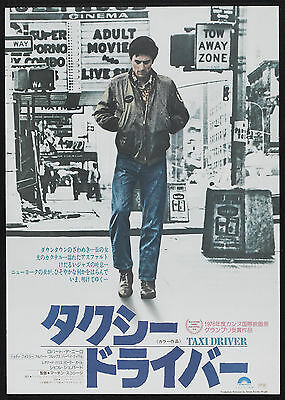 TAXI DRIVER movie Poster 1976 Robert De Niro Martin Scorsese