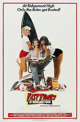 FAST TIMES AT RIDGEMONT HIGH Movie POSTER