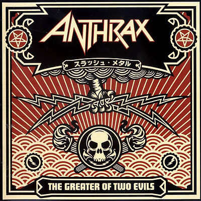 ANTHRAX - The Greater of 2 Evils ALBUM COVER POSTER 12x12