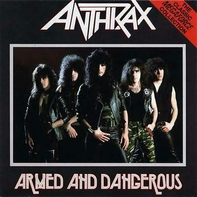 ANTHRAX - Armed & Dangerous ALBUM COVER POSTER 12x12