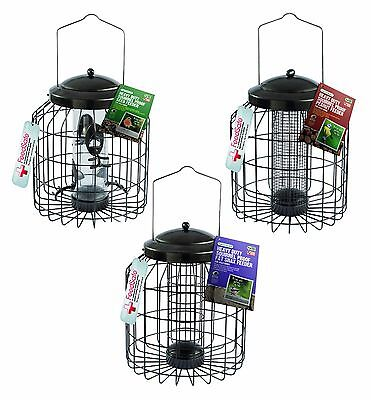 Gardman Heavy Duty Squirrel Big Birds Proof Feeder Seed Peanut Fat Snax Feeder