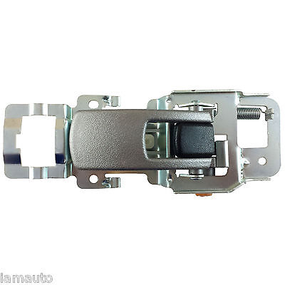 Right Passenger Textured Silver Inside Door Handle Front or Rear For Equinox