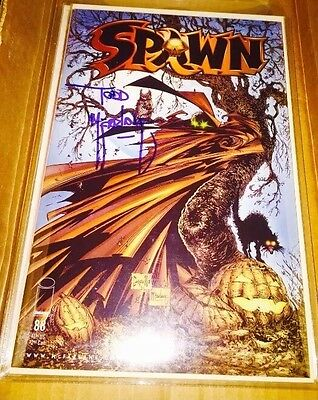 Spawn # 88 Signed By Todd Mcfarlane Nm /w/coa