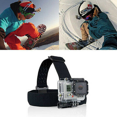 New Head Strap Mount Belt Elastic Headband For GoPro GO PRO HD Hero 2/3 Camera