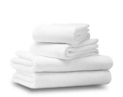 Luxury White Towel 100% Egyptian Cotton 650 gsm Face Hand Bath Towels