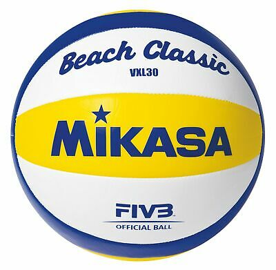 Mikasa Beach Classic VXL 30 Wettkampf- und Trainings Beachvolleyball Volleyball