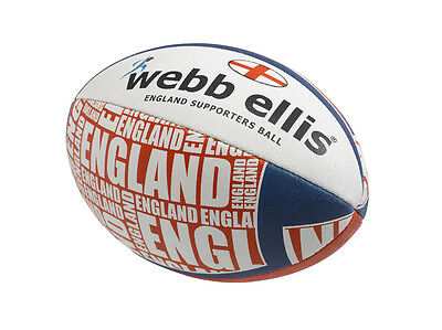 105703 SPORTS DEAL Webb Ellis England Supporters Mini Rugby Ball