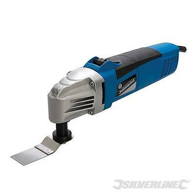 Silverline Oscillating Multi-Tool with Sawing Sanding Scraping Accessories 260W