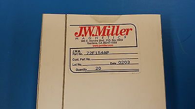 (5 PCS) 72F154AP JW MILLER RF FIXED INDUCTOR 150uH 5% AXIAL LEAD OBSOLETE