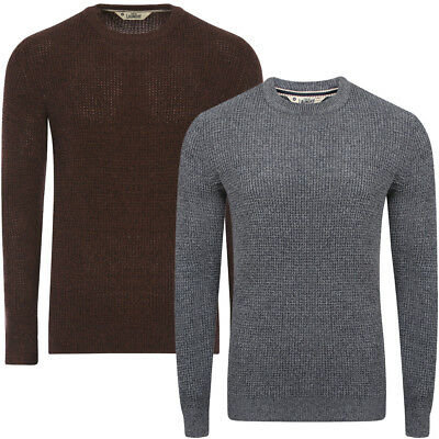 Tokyo Laundry Mens Timber Jumper Textured Knit Casual Top Sweater RRP £30