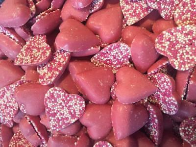 * Chocolate Pink Hearts Valentines Day Wholesale Pick n Mix Wedding RETRO SWEETS