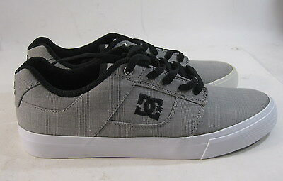 bc0ad56596339 MEN'S DC SKATEBOARD Shoe Bridge TX 320098 Gray/black/White size 8.5 ...