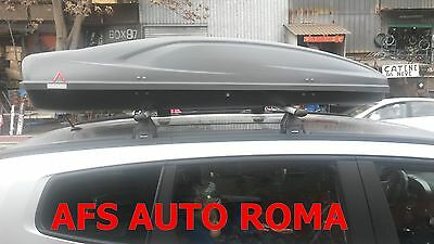 Box Auto Portaoggetti All Time 480+Barre Portatutto Allum Chevrolet Orlando 2011