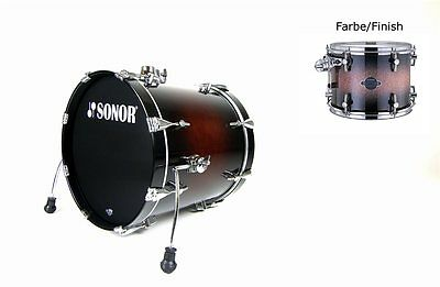 "Sonor Select Force Bassdrum 22""x20"" Brown Galaxy Sparkle (no mount) 55%Reduziert"
