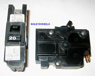 Federal Pacific FPE 20A 20 Amp single Pole Type NA Circuit Breaker NA120   BK