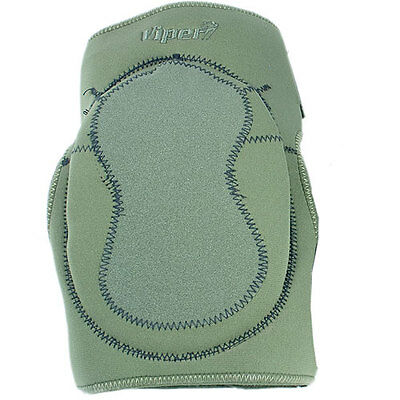 Viper Neoprene Unisex Body Armour Knee Pads - Olive Green One Size