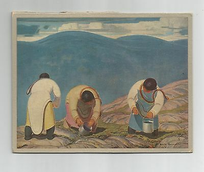 Eskimo Berry Pickers, Harold Beament, Rous & Mann Press Ltd. print - calendar