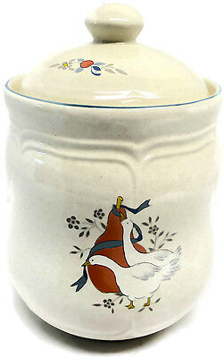 International China Marmalade Geese Medium Size Canister