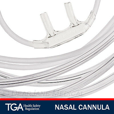 6 Adult Oxygen Nasal Cannula With Tubing With Nasal Prongs