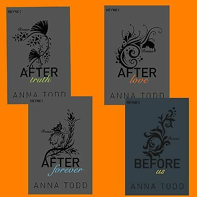 Anna Todd - After Band 2+3+4+5 - Truth, Love, Forever, Before us - Set - Erotik