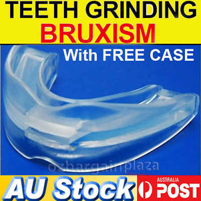Custom MOUTHGUARD Moldable Mouth Guard Night Bruxism Boil Bite Teeth Grinding AU