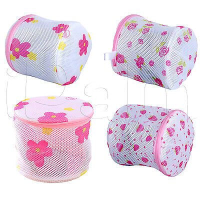 Women Washing Net Bag NEW Lingerie Laundry Bra Delicate Hosiery Wash Mesh Zipper
