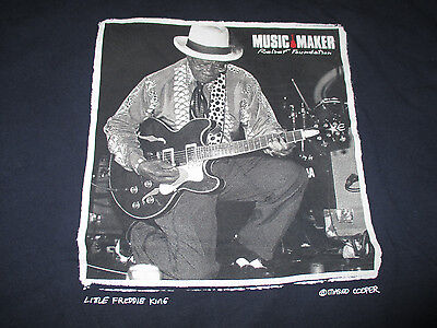 Music Maker Relief Foundation LITTLE FREDDIE KING (XL) T-Shirt