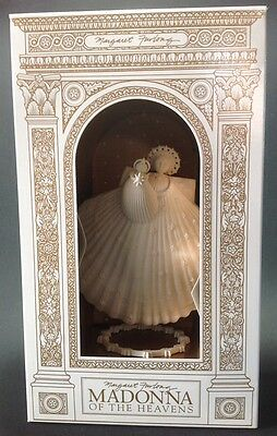 Margaret Furlong Madonna of the Heavens Shell Angel Ornament 1998 LE in Box 6.5""