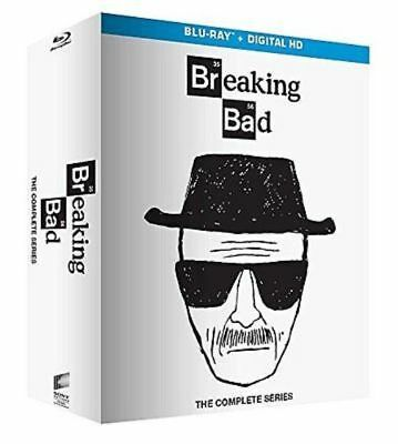 Blu Ray BREAKING BAD - La Serie Completa 1-6 (Box 21 Dischi) White Edition.NUOVO