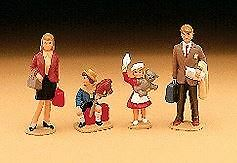Lgb G Scale Family Figures (4) | Bn | 51400