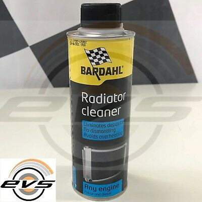 BARDAHL COOLING SYSTEM FAST FLUSH Additivo Trattamento Pulizia Radiatore 300ml