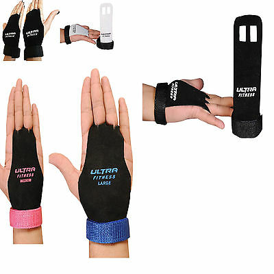CROSSFIT GRIPS LEATHER PALM PROTECTORS HAND Gymnastics GUARDS GYM GYMNASTICS