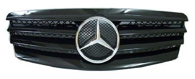 Sport Black CL Front Grill Grille Fits 2002-2006 Mercedes Benz E Class W211