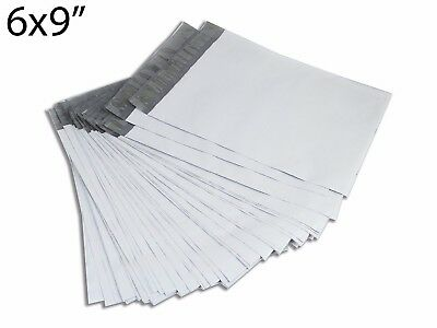 "50PCS 6x9"" Gray Poly Shipping Envelope Sealing Mailers Bag 2.0 Mil"
