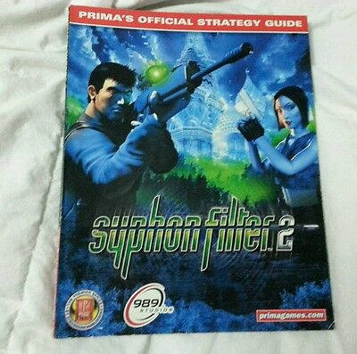 Syphon FIlter 2 Prima Official Strategy Guide PS1 Playstation