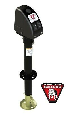 Fulton Bulldog 3500Lb Electric Power Trailer Tongue Jack A-Frame 5 Year Warranty