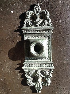 Victorian Door Bell Doorbell Cast Brass Electric Cover Alternative
