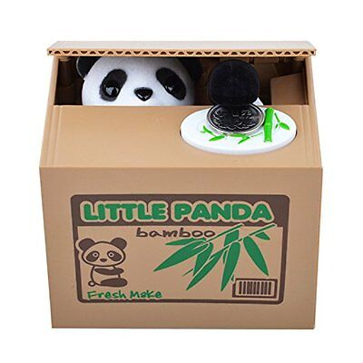 Matney Stealing Coin Panda Box-Piggy Bank-Panda Bear-English Speaking