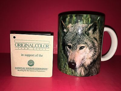 National Wildlife Federation Gray Wolf Mug