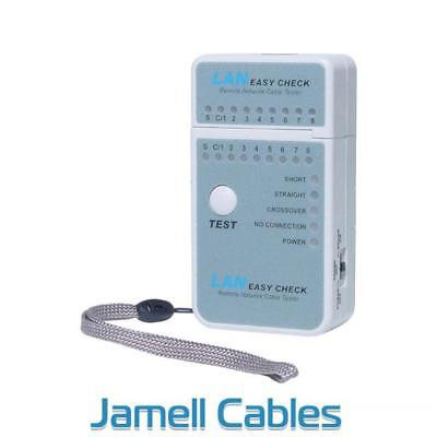 Mini Cable Tester for Networks / LAN