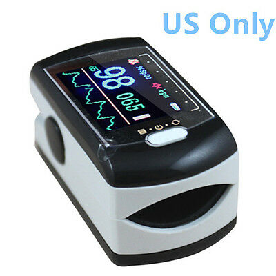 *USA Stock* Contec CMS50E Colour OLED Fingertip Pulse Oximeter + USB + Free S/W